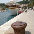 Stock Photo: Harbour of Hvar with boats