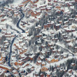 Village Meribel France - Foto Stock