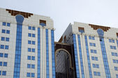 Buildings in Abu Dhabi — Stock Photo