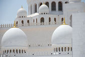 Sheikh Zayed Grand Mosque — Stock Photo