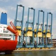 Foto de Stock  : Port of Antwerp