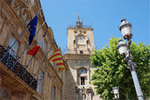 Aix en provence (south of France) — Stock Photo