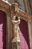 Saint Sauveur Cathedrale in aix en provence — Stock Photo