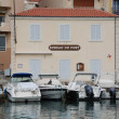 Bureau du port in Cassis — Stock Photo