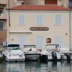 Bureau du port in Cassis — Stock Photo