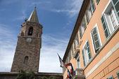 Town hall en church of Frejus — Stock Photo