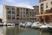 Yacht port Frejus — Stock Photo
