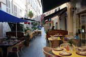 Restaurants in der provence — Stockfoto