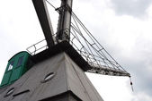 Crane in the port of Rotterdam — Stock Photo