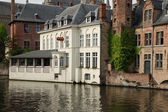 Hotel in Bruges (Belgium) — Stock Photo