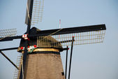 Detail of a windmill — Stock Photo
