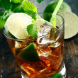 Cuba Libre Drink - Stock Photo