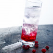 Cocktail Drink with grenadine — Stock Photo