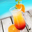 Sex on the beach Cocktail - Foto Stock