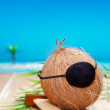 Royalty-Free Stock Photo: Coconut Pirate