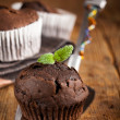 Freshly baked muffin — Stockfoto
