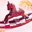 Christmas Rocking Horse — Stock Photo #9004756