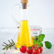 Ingredients For Tagliatelle — Stock Photo