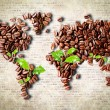 Coffee around the world — Stock Photo