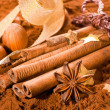 Bundle of Cinnamon — Stock Photo