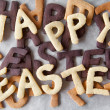 Easter Biscuit Background — Stock Photo