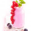 Healthy Berry Smoothie — Stock Photo