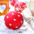 Red Christmas Bauble — Photo