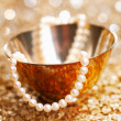 A Gift Of Pearls - Stock Photo