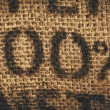 Hessian one hundred percent background — Stock Photo