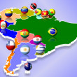 South America - Stock Photo