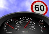 Speeding — Stock Photo