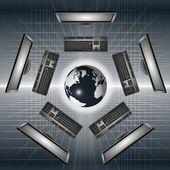 Internet technology — Stockfoto
