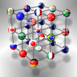 G20 molecule — Stock Photo