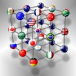 Royalty-Free Stock Photo: G20 molecule