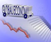Global economy — Stock Photo