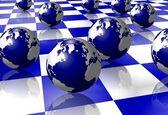 Earth on floor — Stock Photo