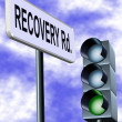 Recovery road — Stock Photo