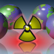 Royalty-Free Stock Photo: Radioactive symbol