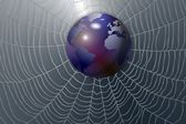Earth and web — Stock Photo