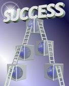 Steps to success — Stock Photo