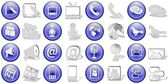 Communication icons set — Stock Photo