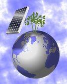 Solar energy — Stock Photo