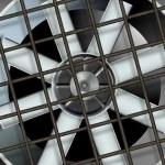 Industrial ventilation fan — Stock Photo #9288862