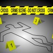 Stock Photo: Crime scene