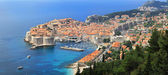 Dubrovnik aerial — Stock Photo