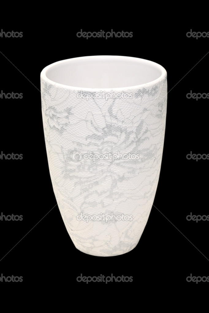 Decorative vase isolated with clipping path included  Stock Photo #8508984