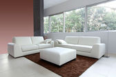 White living room — Stock Photo