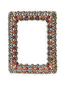 Jewelled frame — Stock Photo