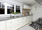 Large kitchen — Stock Photo