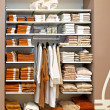 Towels storage — Stock Photo